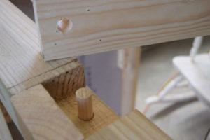 dowel-holes